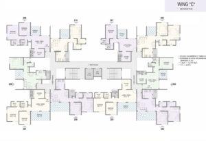 Wing C - 2nd Floor Plan